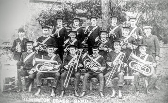 Ilmington brass band c1914/18