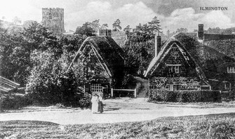Front Street, the Fish and Daisy cottage 1900s