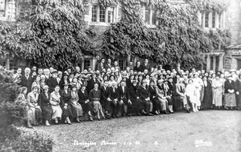 Ilmington Manor gathering June 1936