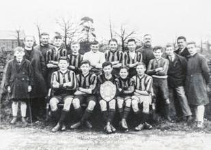 Ilmington boys football club 1930-31