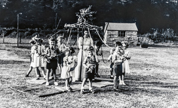 May Day (1954) celebration at playing fields