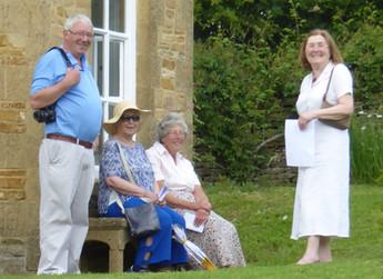2016 - Mike Lane, Sheila Ribbans, Irene Sabin and Lesley Lane