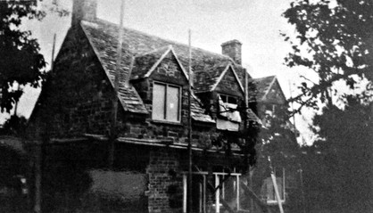 Barn Cottage construction rear