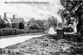 View of Foxcote Hill from Front street, Ilmington