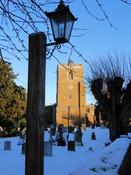 Lamp in Graveyard