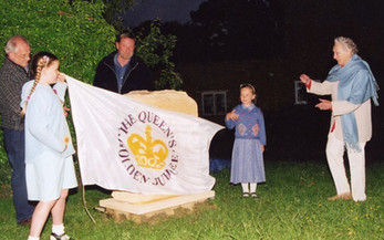 Unveiling the Jubilee stone: Lady Flower
