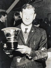 Bowls President's cup 1972. Fred Williams 1st year winner