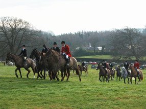 The last legal fox hunt in Ilmington, 22nd January 2005 - 4