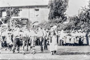 Morris Dancers at Old Rectory