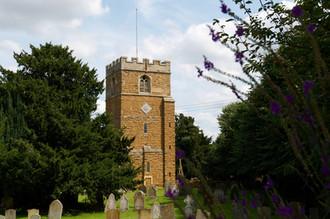 Summer Ilmington church