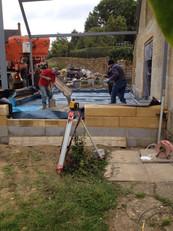 Café construction 8
