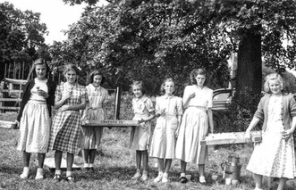 1953 (approx) picnic