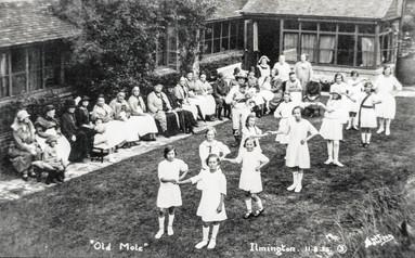 Ilmington Country Dancers at Crab Mill - Lady Borwick
