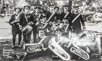 Ilmington brass band 1919