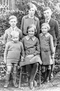 Amy, George, Mary, Fred, Alice & Leslie Terry 1933