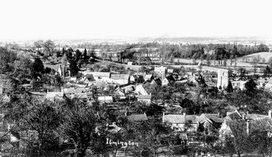 Ilmington from Foxcote Hill