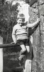 Gerv Franklin aged 4 in 1938