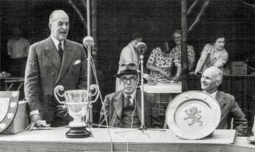 Opening of playing fields, Ilmington - 30th June 1951. Philip L Jewsbury