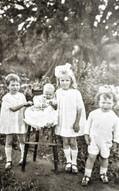 Jessie, Amy, Mary & George Terry 1923