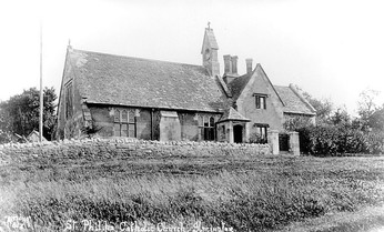 Ilmington Roman Catholic church. 1930s