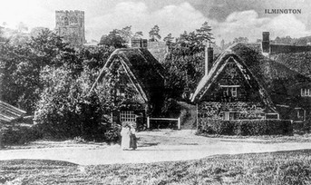 The Fish and Daisy Cottage - 1900
