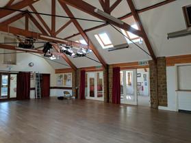 Inside Hall
