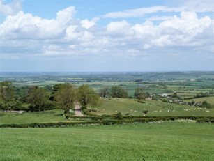 View from Pig Lane in May