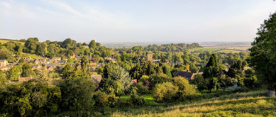 View from Foxcote Hill