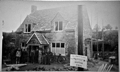 Barn Cottage construction front