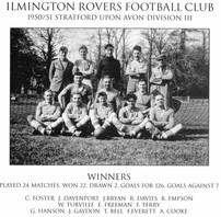Ilmington Rovers Football Club 1950
