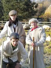 Nativity Play St Mary's Church Christmas 2010. Jack Fenwick, Maurice Ribbans & George Matts 1