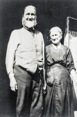 Abraham Frost & wife - Policeman pre 1914