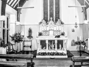 St Philip's church interior