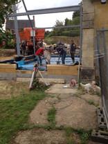 Café construction 7