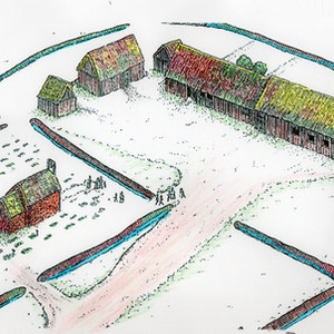 The Origins of the Village in Bury Orchard