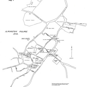Other maps in Gardner & Ibbotson's 'History of Ilmington'