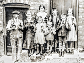 Hand bell ringers - Terry Family