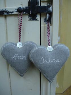 Named hearts