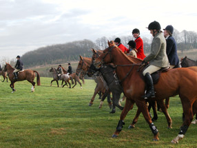 The last legal fox hunt in Ilmington, 22nd January 2005 - 5
