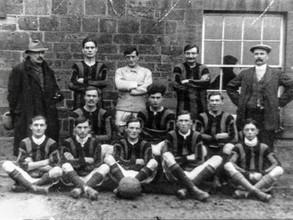 Ilmington football team - Early 1920s