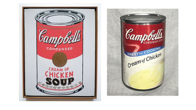 Warhol can of soup