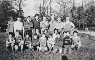 Boxing day football - Seniors v. juniors