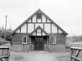 Ilmington village hall. 1948