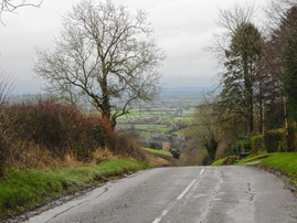 Looking down Campden Hill