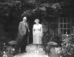Alderman and Mrs Jewsbury - They lived at the Grey House in Grump Street. They were very involved, she in WI and leading on their drama, he with the Sports and Social Club building and development of the playing fields