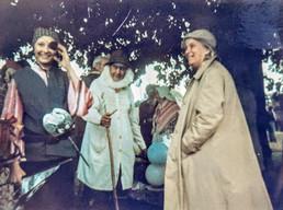 Silver Jubilee 1977. Valerie Peachey, Harry Wilkes, Dorothy Hodgkin (Nobel prize winner & O.M., living at Crab mill)