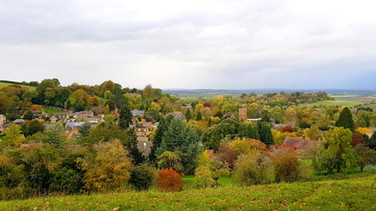 Church View from Foxcote Hill