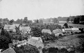 Dower House from St Mary's Church tower. c 1925
