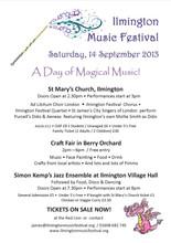 Music Festival poster 2013