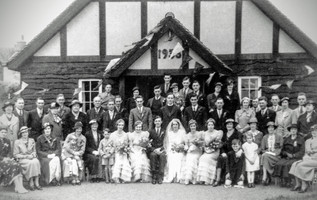 Freda Bryan's wedding to Denis Gilbert